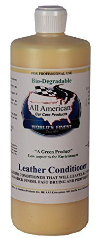 All American Car Care Products Leather Conditioner (32 Ounces)