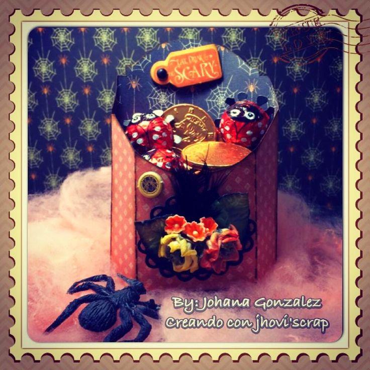 Creando Con Jhovi' Scrap: Cajita Dulcera