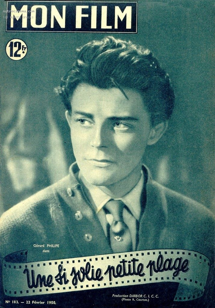 """Gérard Philipe - """"Une si jolie petite plage"""" - Yves Allégret (1949)"""