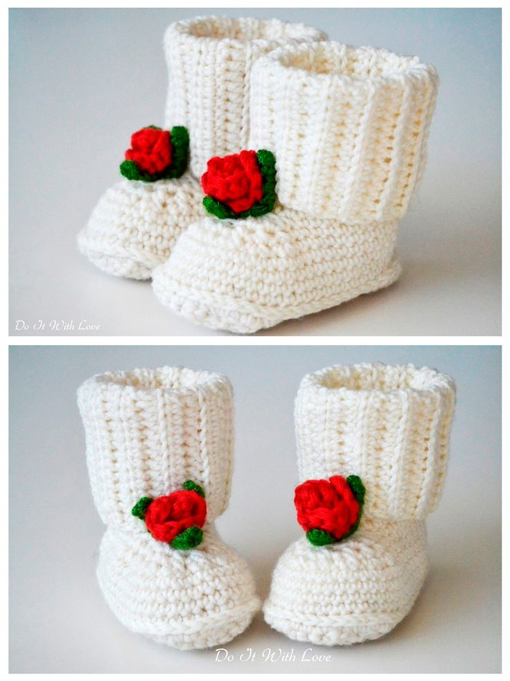 140 best Baby Booties images on Pinterest | Crochet baby, Baby shoes ...