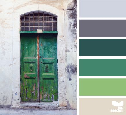 a door palette - design seeds