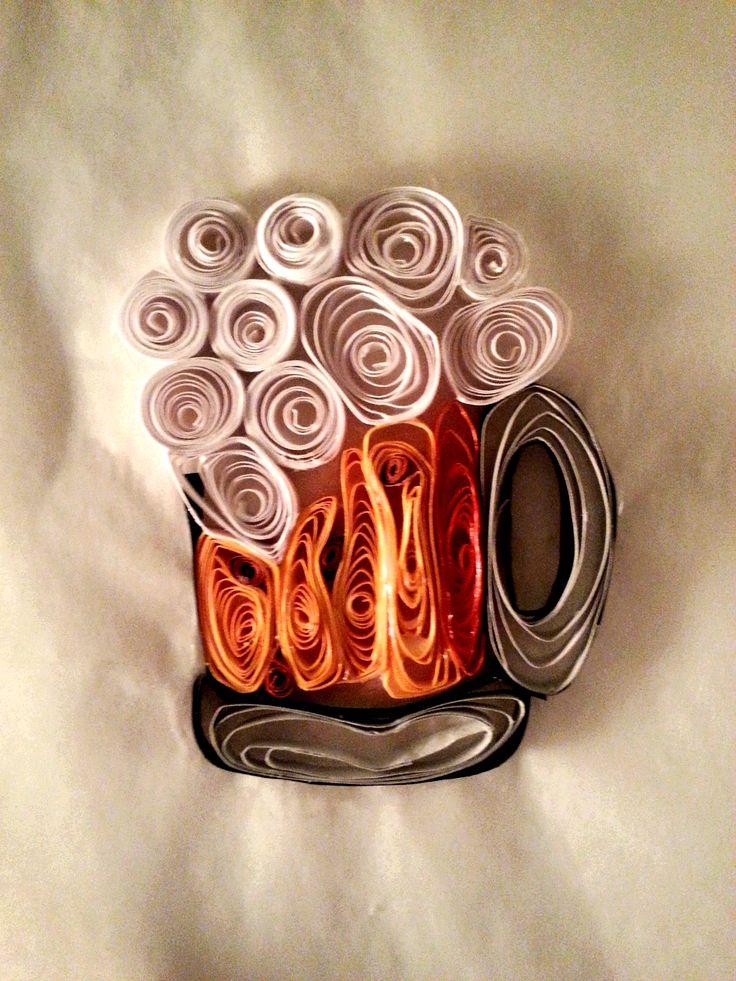 Paper Quilling - Beer Mug