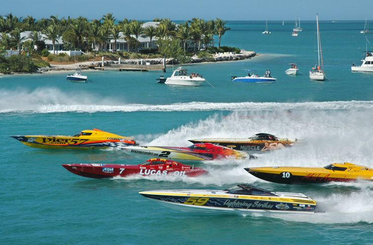 The 2013 Key West World Championships of powerboat racing takes place Nov. 3-10th. The races are the equivalent to NASCAR on the water, comp...