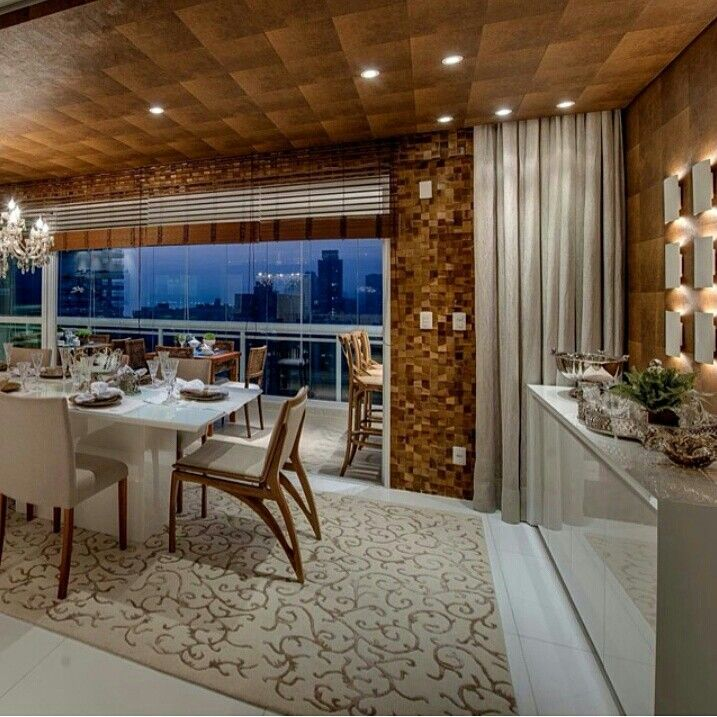 Sala de jantar por Carla Fillipi