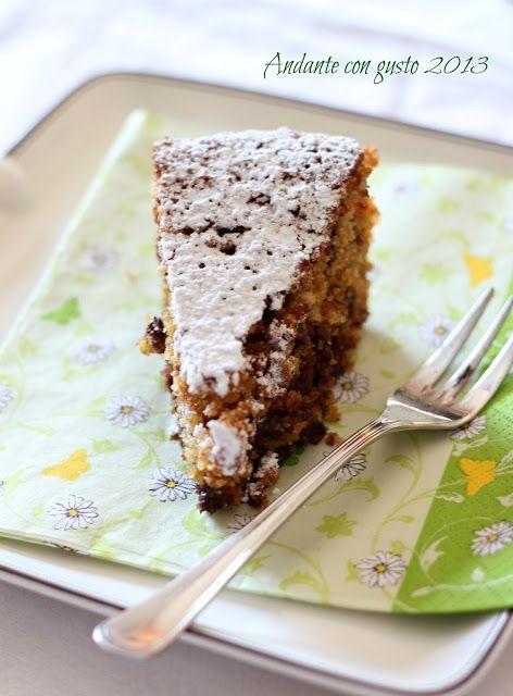 Andante con gusto: Torta di pan grattato, amaretti e cioccolata: odio il cambio di stagione!