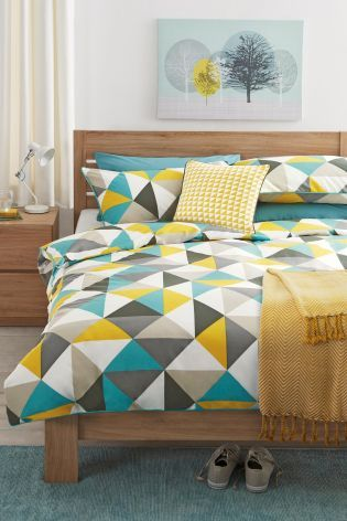 Buy Bright Geo Bed Set online today at Next: Australia - $48 / double