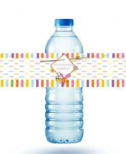 Doğum günü parti süslemeleri için kişiye özel Sevimli Arı Teması Su Şişesi Sticker ürünümüzü online olarak uygun fiyatlar ile satın alabilirsiniz