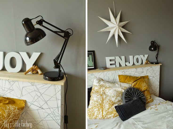 25 best ideas about une tete on pinterest tete de lit maison t tes de lit - Tete de lit palette bois ...