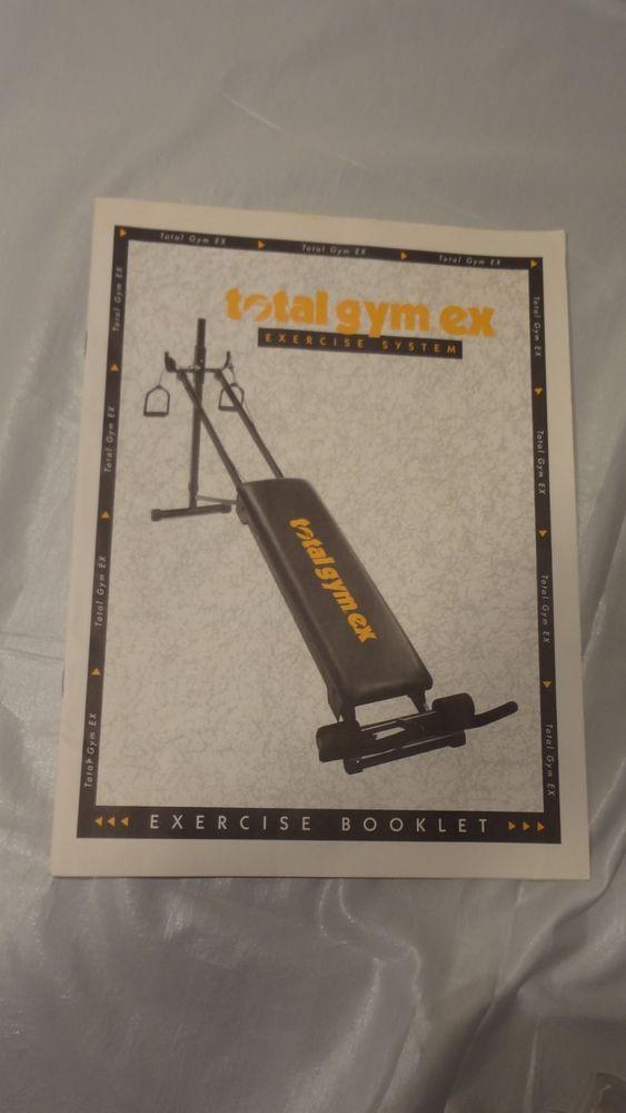 total gym exercise pdf manual