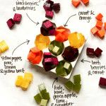 A Rainbow of Healthy Homemade Gummy Snacks - must do this with the kids as a summer cooking activity ... Break out the juicer that I haven't used in years!