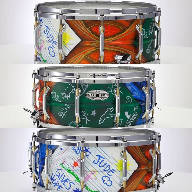 #Repost @bkerchofficial: Hello all.  It's time to raise some money for the children @stjude.  Myself and my friend @k_o.brand_kickasso collaborated on this one of a kind  @pearl_drums snare drum for the #musicgives program at St Jude. Please bid if you can and if not at least check it out and give what you can.  Go to the link in my bio or @ebay for more information. #shinedown #barrykerch #musicgives #stjudechildrensresearchhospital #kickasso #pearldrums