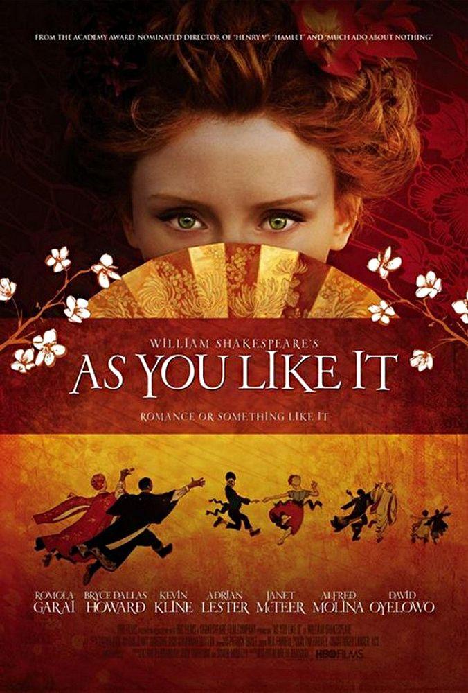 As You Like It (2006 USA, Great Britain) dir. Kenneth Branagh [Как вам это понравится/ США, Великобритания 2006/ реж. Кеннет Брана]