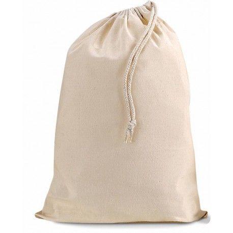 Katoenen zak met koort