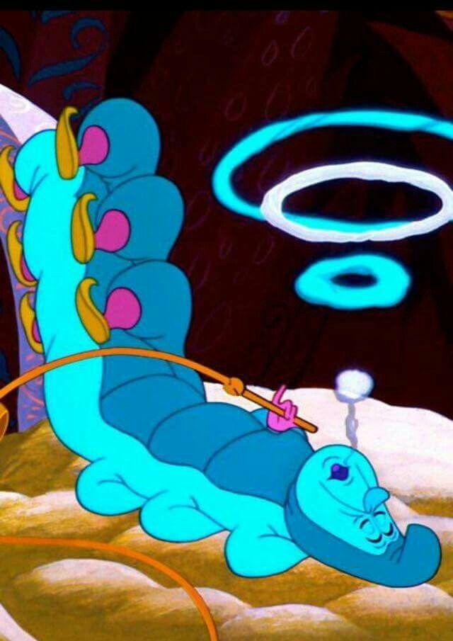 Caterpillar from Alice in Wonderland