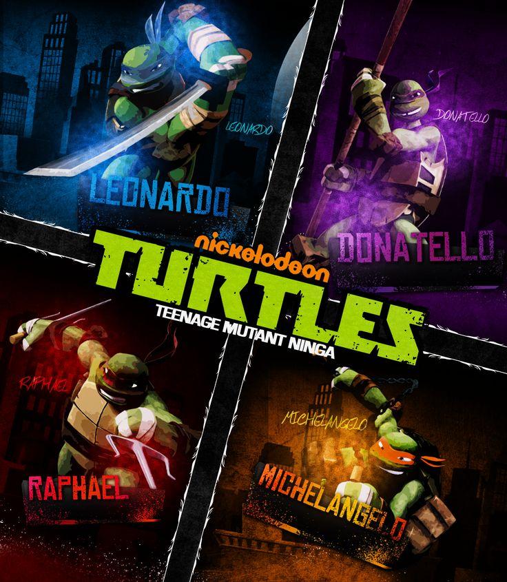 """""""Teenage Mutant Ninga turtles?"""" Look at what it says the spelled ninja wrong LOL!"""
