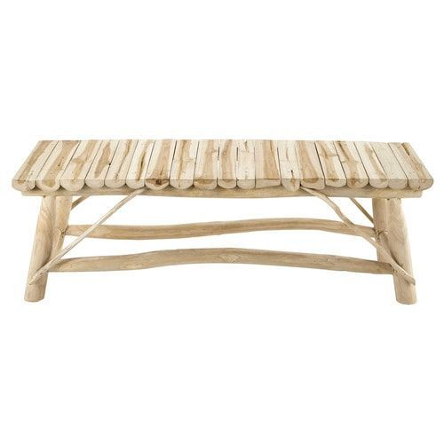 Soften handmade wooden benches with layers of cushions and throws #IWANTTHATSTYLE