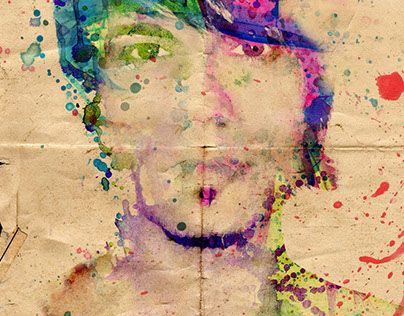 "Check out new work on my @Behance portfolio: ""Color self-portrait"" http://on.be.net/1iheMiG"