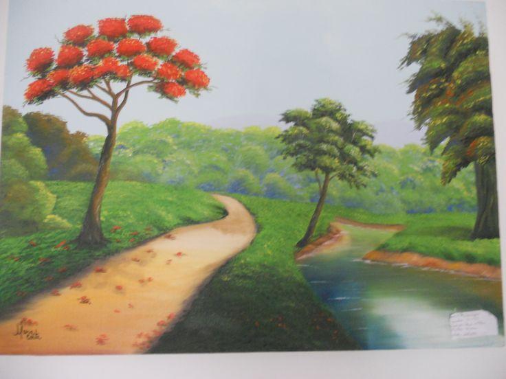 pintura em tela