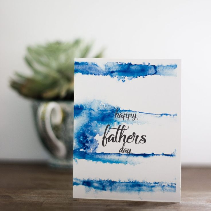 watercolor fathers day printables - 736×736