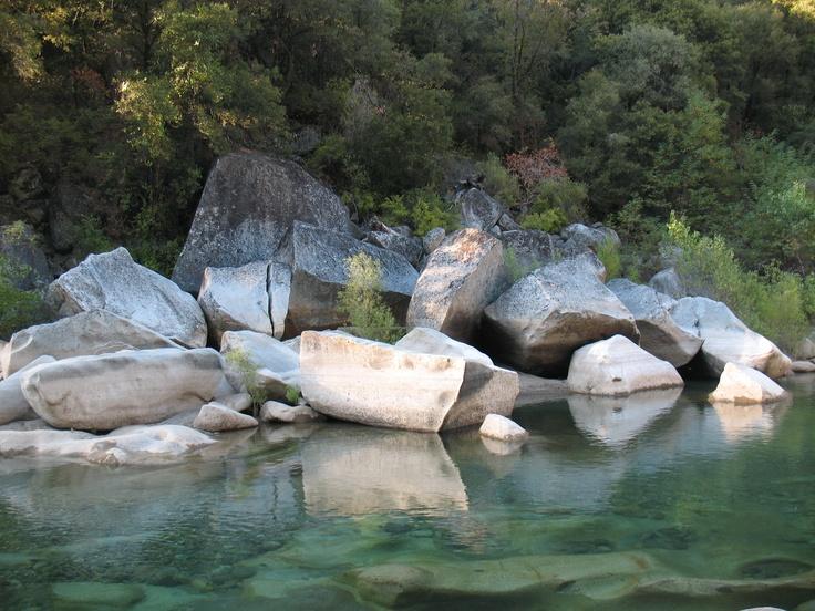 South Fork of the Yuba River near Nevada City, CA.