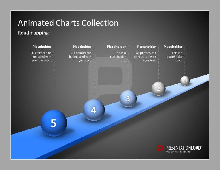 Animated PowerPoint Templates Use the Animated Charts Collection ...