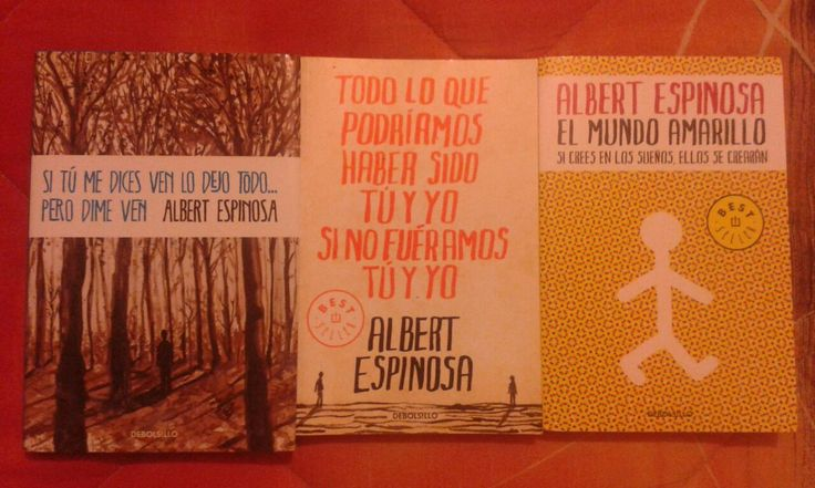 Mari. Albert Espinosa, simplemente me encanta lo que hace.
