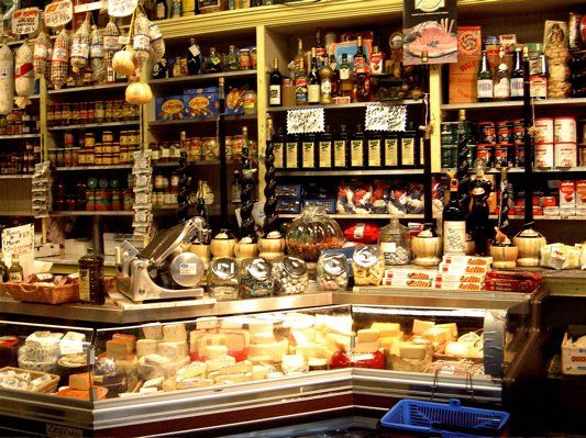 If I can't go to Italy, then I need to go here.....Molinari Italian Market, North Beach, San Francisco