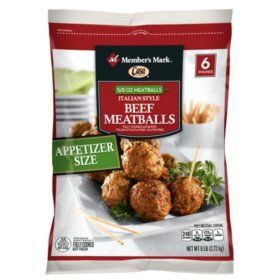 Sam's Club - Member's Mark Italian Style Beef Meatballs by Casa di Bertacchi (6 lb. bag)