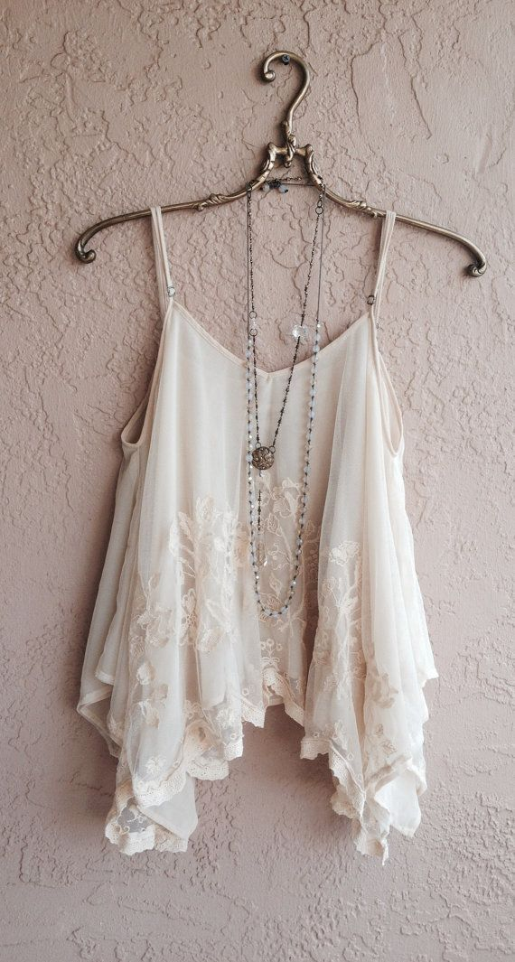 Romantic lace Sheer embroidered Juliet style bohemian gypsy goddess cape sleeve camisole reserved for Arianna