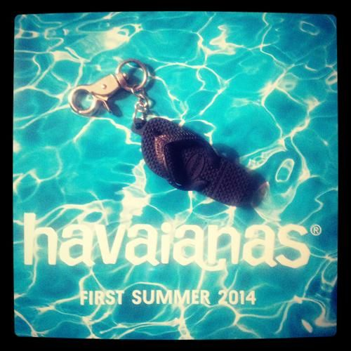 One of the best USBs I've ever received - a Havaianas themed USB. Part of their summer 2014 marketing campaign.