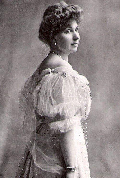 Ena of Battenberg later Queen of Spain, granddaughter of Queen Victoria