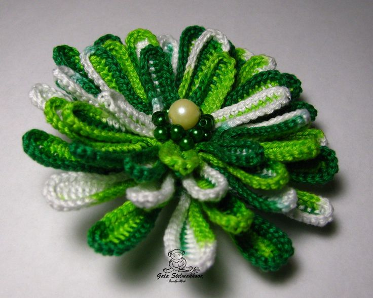 My crochet flowers