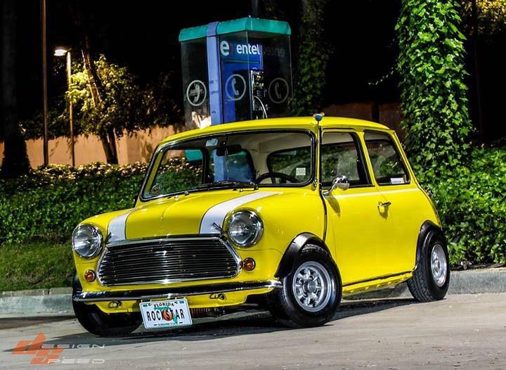 Mini Cooper - Yellow Car