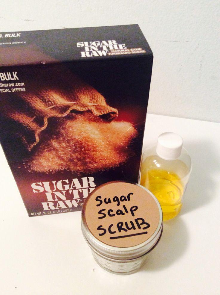 Amazing scalp scrub for dry scalp!!!!!