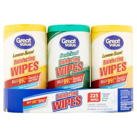 Household Essentials Disinfecting Wipes Helpful Hints Cleaning Day