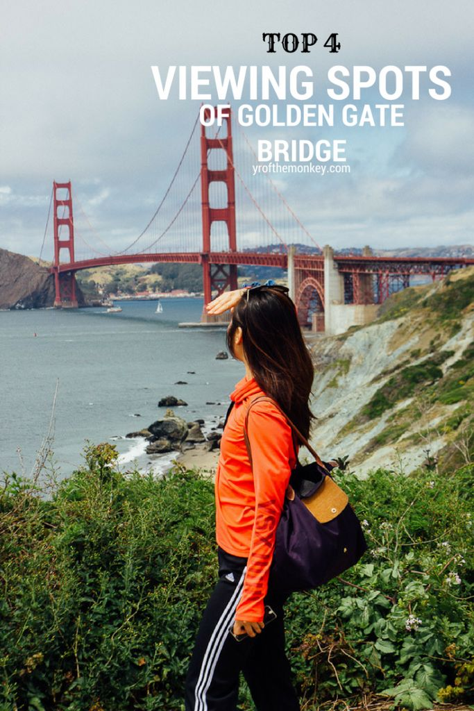Most tourists get it all wrong when it comes to visiting the Golden gate bridge in San Francisco, USA. Read this post by clicking on the pin to find out the four must visit spots in SF and nearby which offer gorgeous, unobstructed views of the world's most famous bridge. Be a savvy visitor, not an ignorant tourist and get your best Instagrammable worthy shots!