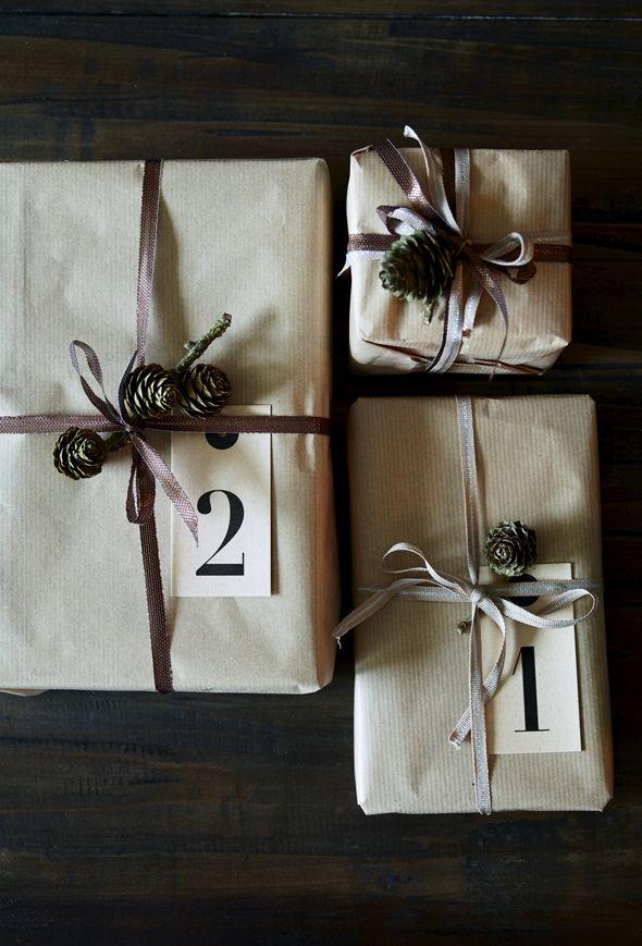 Alle gaverne er købt - og pakket ind . Det lyder nok lidt nørdet, men jeg elsker at pakke gaver ind :O) Og nu kan jeg så nyde synet af dem a...