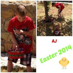 AJ Easter 2014