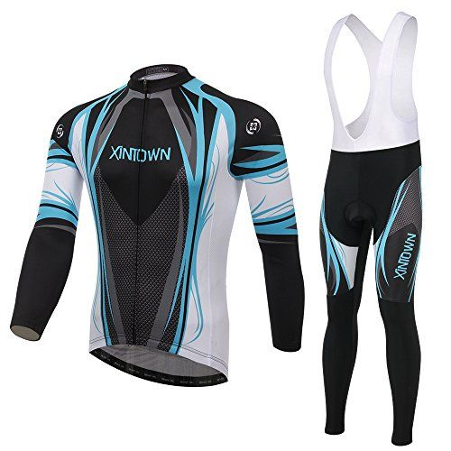 Hot Sale 2015 XINTOWN Autumn and Winter Comfortable Outdoor Men Cycling Sets Made Of Breathable And Quick Dry FabricLong Sleeve Jersey And Pant Size XXXL * Click image for more details.Note:It is affiliate link to Amazon.
