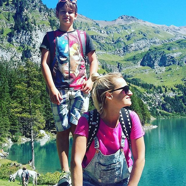 #Oeschinensee #switzerland #holiday #kandersteg