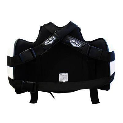 Ampro Pro Gel Body Protector - Black/White - Ampro