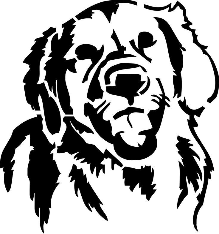 Rottweiler outline