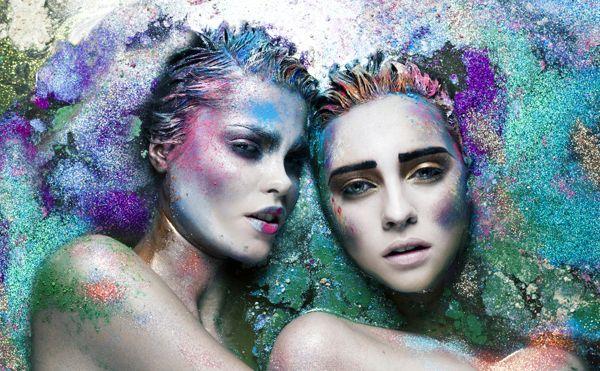 Make Up Store Magazine - Issue 19 by Camille Sanson, via Behance