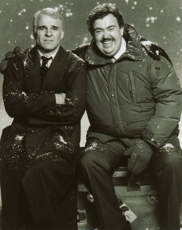 Steve Martin and John Candy.  Hands down, one of my favorites, ever! Trains, planes, and automobiles.