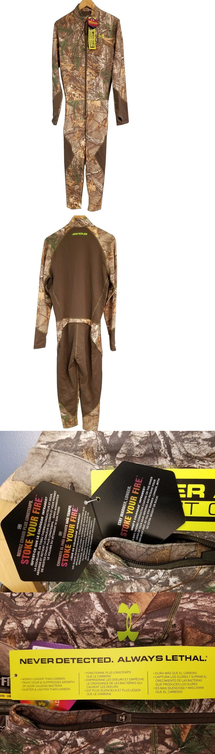 Base Layers 177867: Under Armour Coldgear® Armour Scent Control Ninja Suit, Realtree Ap Xtra -> BUY IT NOW ONLY: $149.99 on eBay!