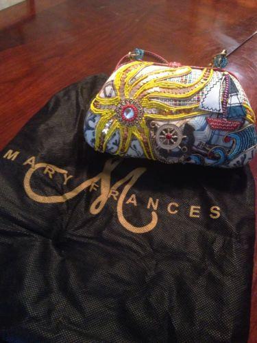 Beaded Mary Frances Nautical Purse Pocketbook Handbag