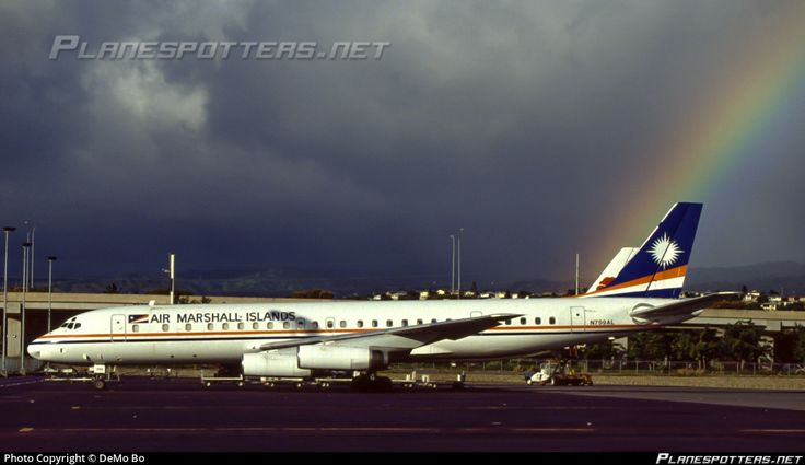 N799AL Air Marshall Islands Douglas DC-8-62CF photographed at Honolulu - International (HNL / PHNL) by DeMo Bo