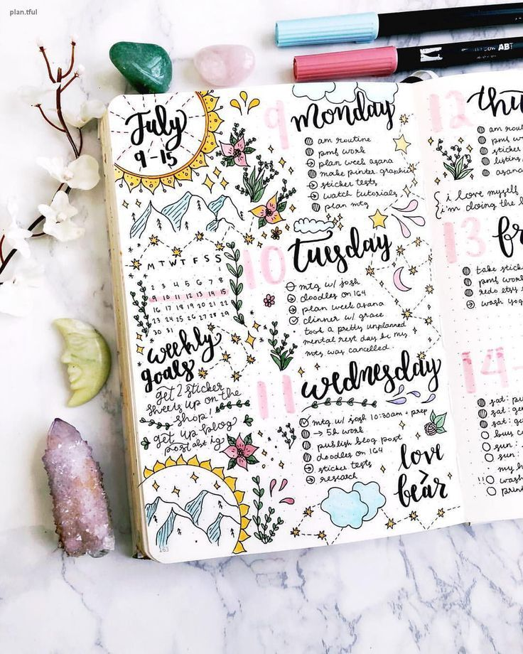 Bullet Journal Bujo Planner Ideas For Weekly Spreads Studygram Study Gram Calligraph With Images Bullet Journal Aesthetic Bullet Journal Inspiration Bullet Journal Headers