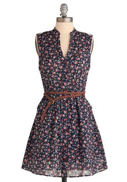 This is a great summer dress, it looks much better with a short cardigan though.