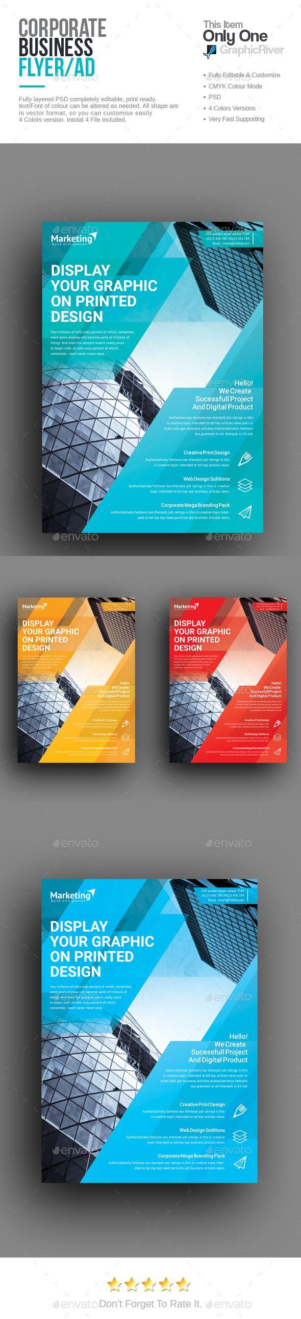 Poster design rates - Corporate Flyer Business Postercreative Flyersflyer Designflyer